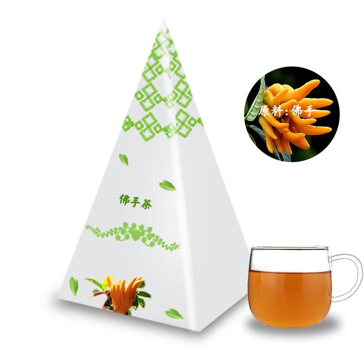 佛手茶立体三角茶包 OEM代加工