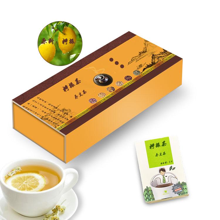 柠檬茶代加工袋泡茶OEM茶生产规格1.5g~5g