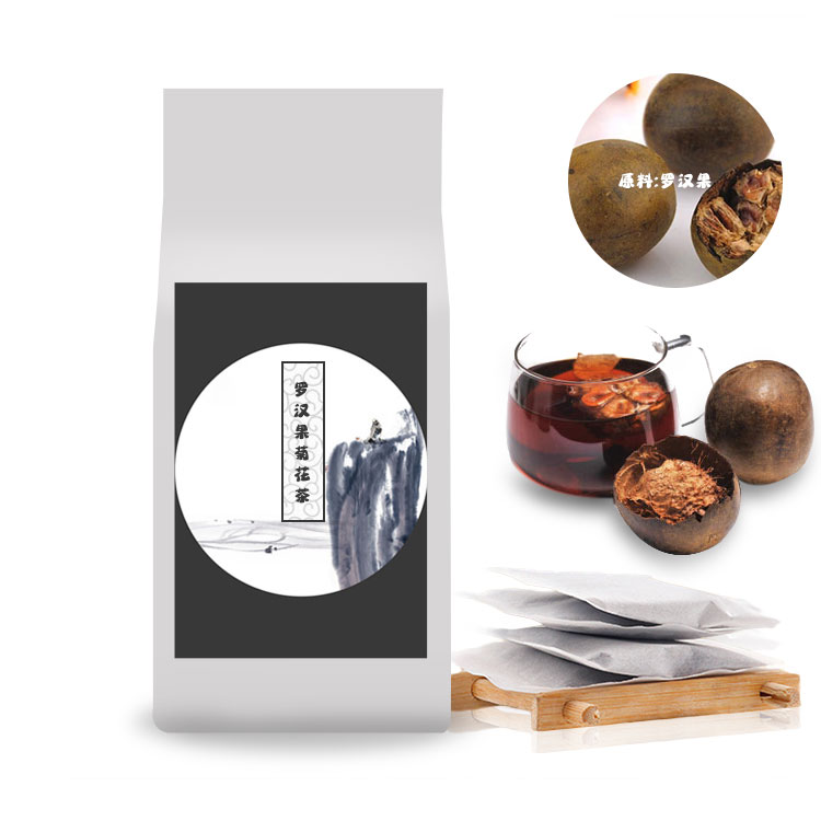 罗汉果菊花茶oem代加工-袋泡茶sc生产厂家